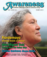 FlordeJulyo sowing seeds of peace don miguel ruiz facing fear the toltec way carlos santana shape shifter