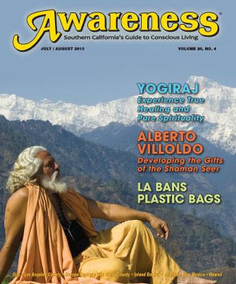 Yogiraj Alberto Villoldo LA plastic bag ban