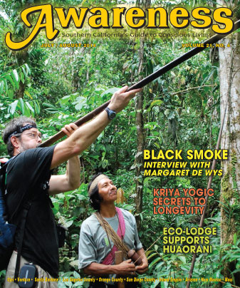 black smoke margaret de wys kriya yogic secrets to longevity eco-lodge supports huaorani