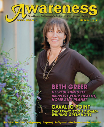 Beth Greer helpful hints to improve your health Cavallo Point Green hotel